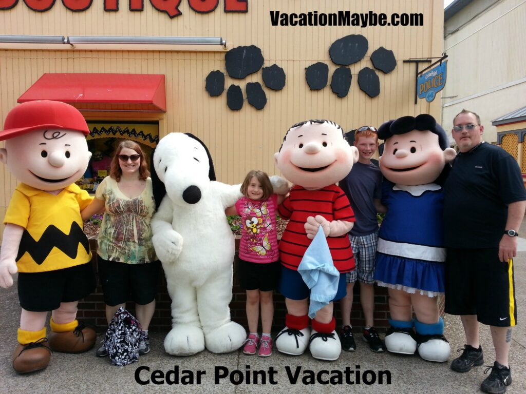 cedar point vacation