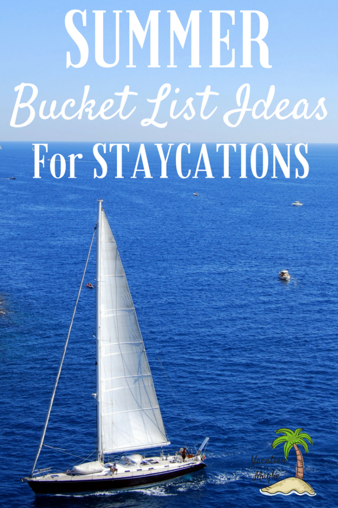 Summer Bucket List Ideas: Check out our top summer bucket list ideas for those going on staycations! Tons of unique staycation ideas that work no matter what your area may be! Great budget friendly travel idea everyone will love!