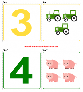 Counting Printable For Car Games