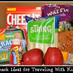Snack Ideas for Traveling With Kids