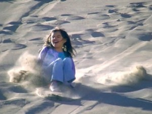 Sand Sledding At The Great Sand Dunes National Park & Preserve