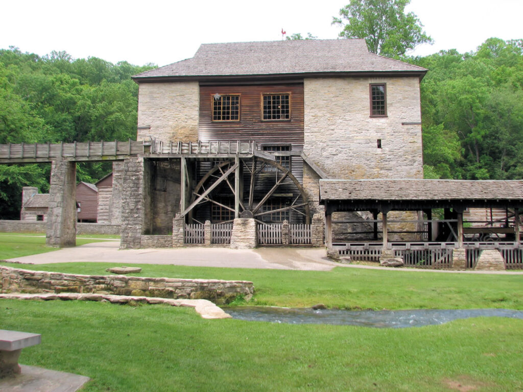 Visit Spring Mill State Park's Pioneer Village – Indiana Travel
