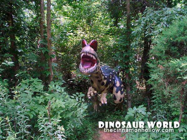 Dinosaur World in Cave City, Kentucky