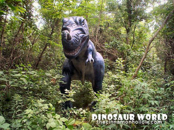 Dinosaur World Cave City Kentucky
