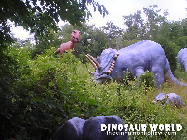Dinosaur World In Cave City Kentucky