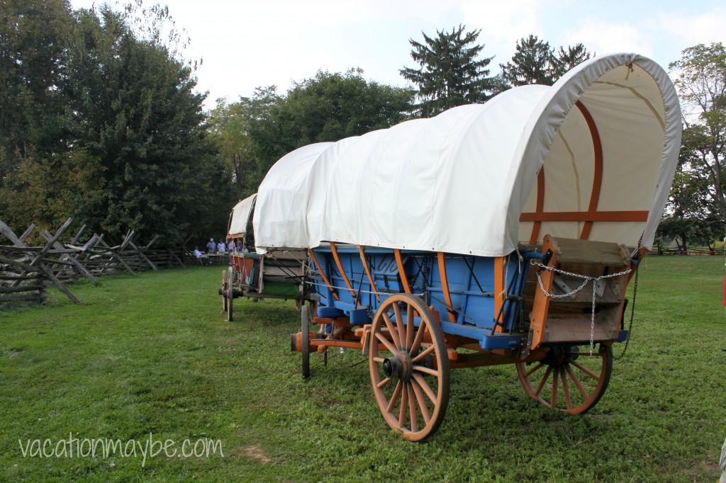 Hans Herr House Covered Wagon