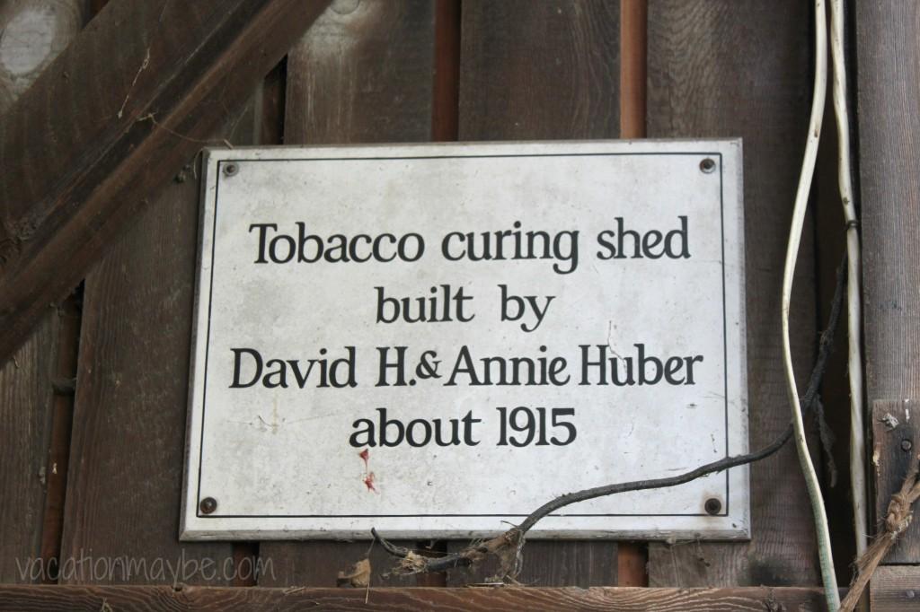 Hans Herr House Tobacco Barn