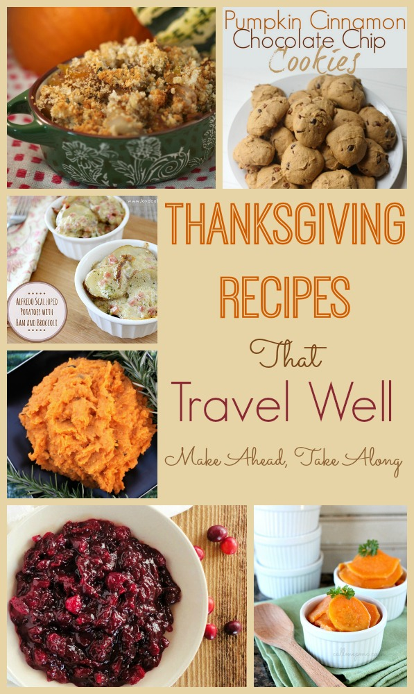 Thanksgiving Foods That Travel Well
