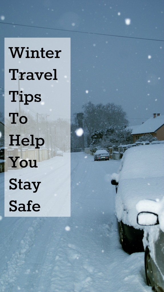 Winter Travel Tips to Help You Stay Safe