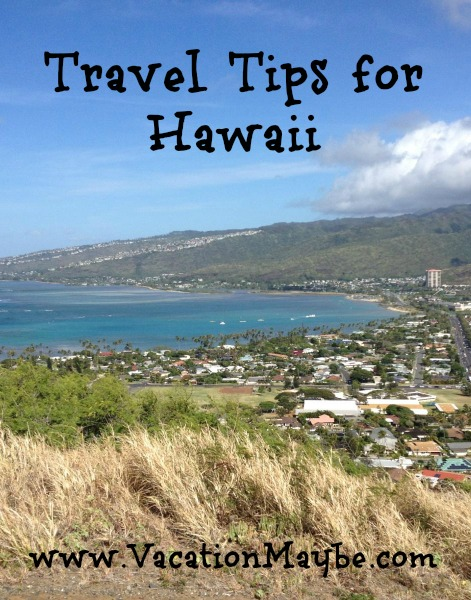 Travel Tips for hawaii