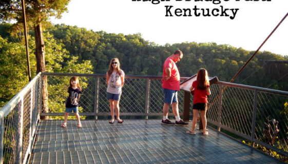 High Bridge Kentucky Scenic Overlook