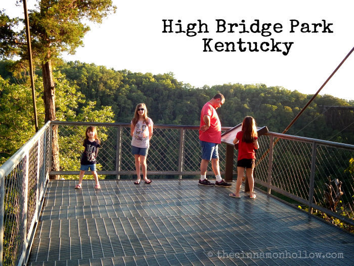 High Bridge Kentucky Scenic Overlook