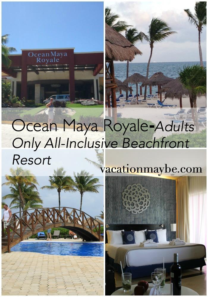 Ocean Maya Royale Collage
