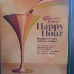 Restaurant Review: The Cheesecake Factory (Novi, MI)