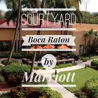 Courtyard Boca Raton by Marriott is the perfect place for a weekend getaway. Close to the beach and other attractions, but no need to even leave the hotel.