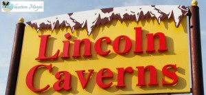 Lincoln Caverns sign