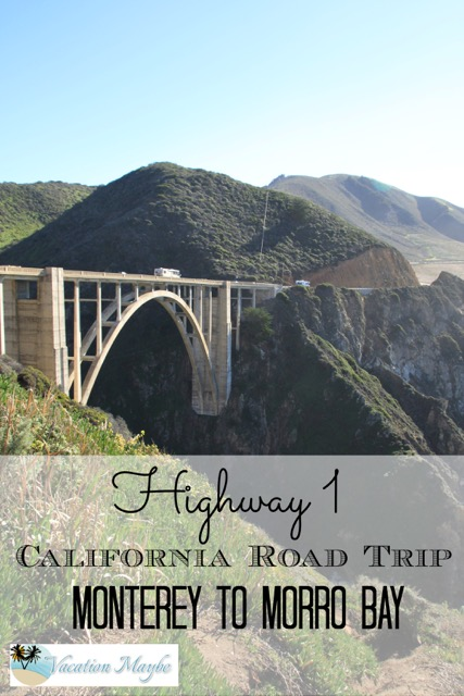 We headed out early in the morning with sandwiches packed and our gas tank full and headed south along Highway 1 from Monterro to Morro Bay. See where we stopped along the way.