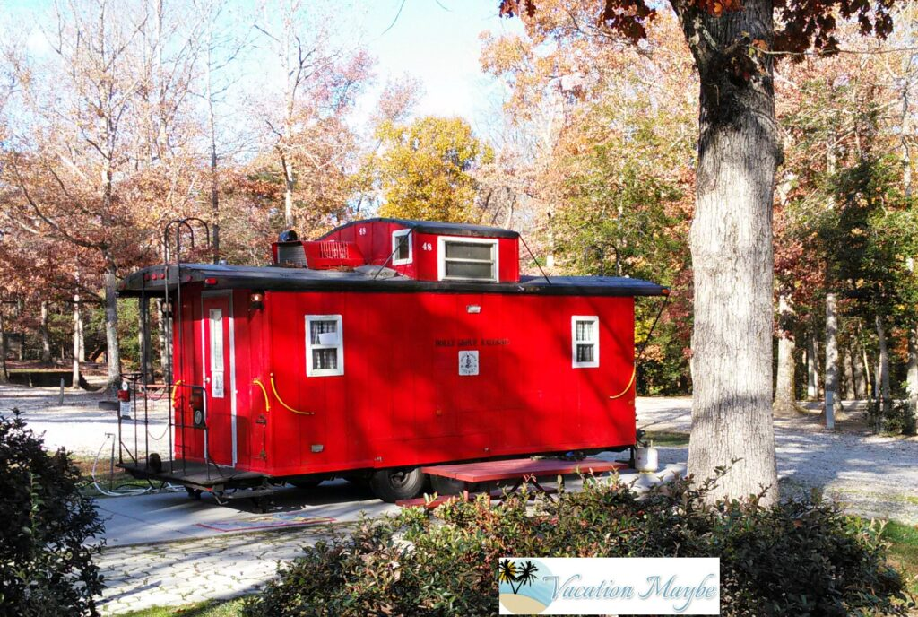 Follow That Caboose - camping is a wonderful adventure