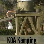 Follow That Caboose to the Williamsburg KOA!