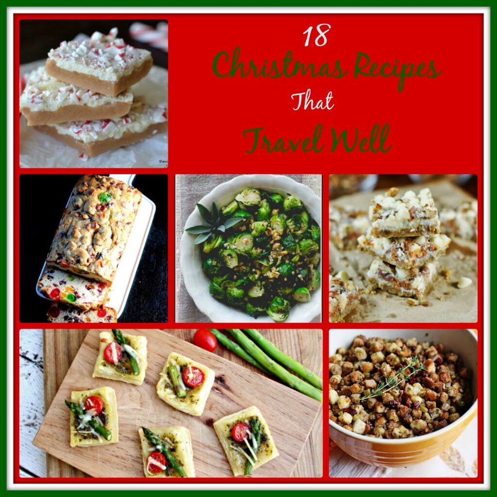 christmas recipes that travel well