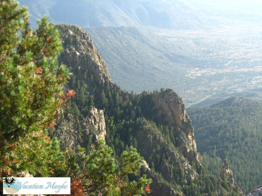 The Sandia Peak Tramway extends to the top of Sandia Peak an elevation of 10,500 ft. It is an engineering marvel, but that is not the only reason...