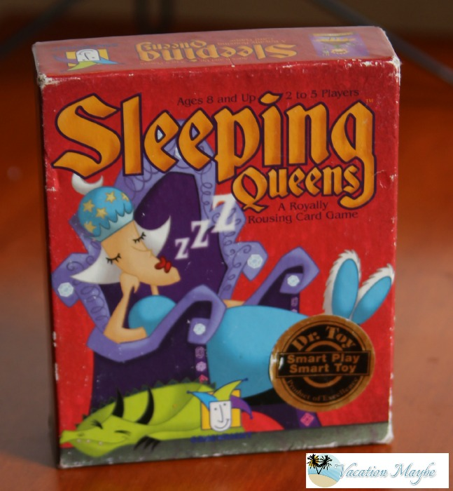 Sleeping Queens is one of our favorite travel games