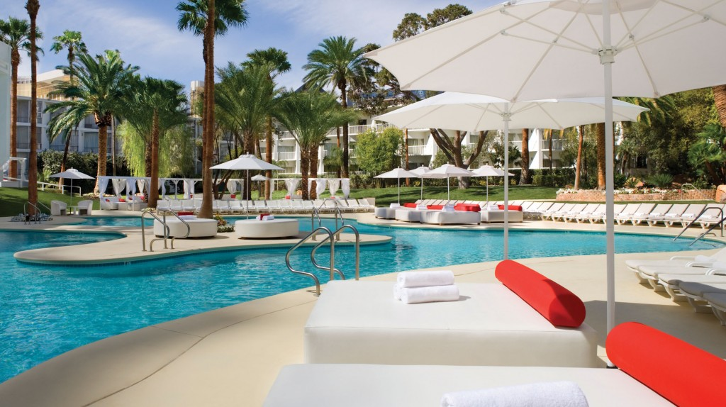 Pool Area Tropicana Resort Las Vegas
