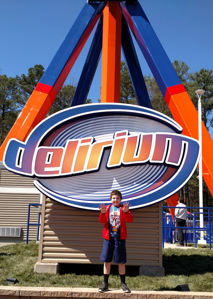 My son loved riding Delirium so much he rode it ten times
