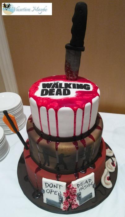 Walking Dead Red Velvet Cake