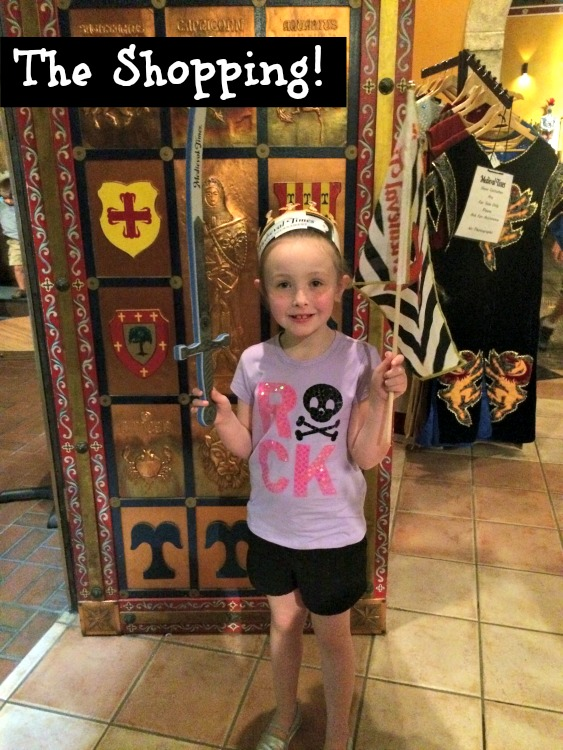 medieval times shopping