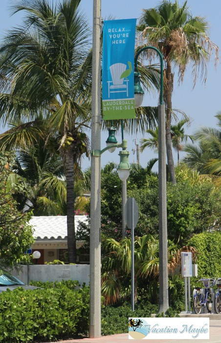 10 signs you know you are in lauderdale by the sea street welcome sign