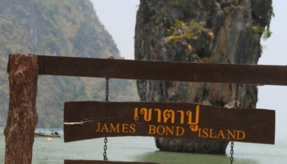 James Bond Island is a fun place to visit when in Phuket Thailand