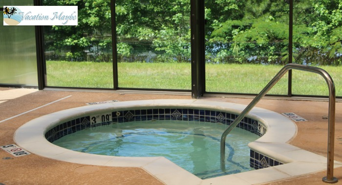 Staybridge Suites Hot Tub Daytime
