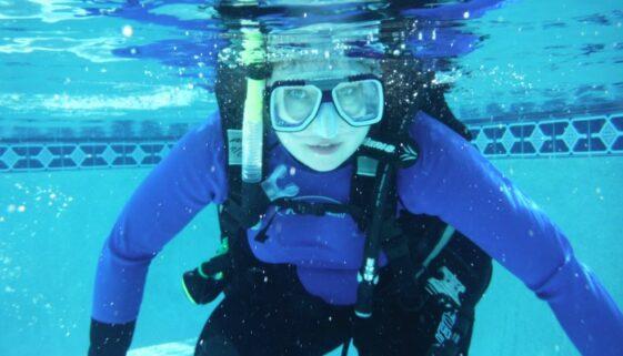 Windjammer Resort Scuba practice in the pool
