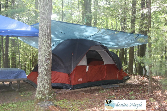 Camping at Fairy Stone State Park