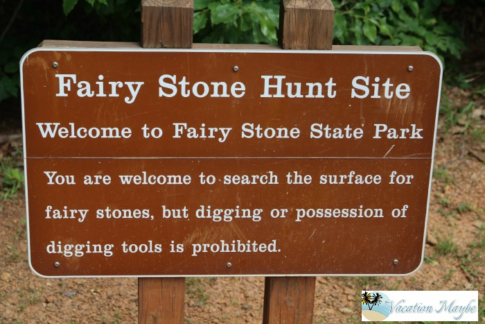 Fairy Stone Hunt Site