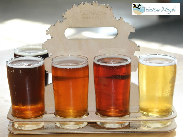 O'Conner Brewing Company second flight