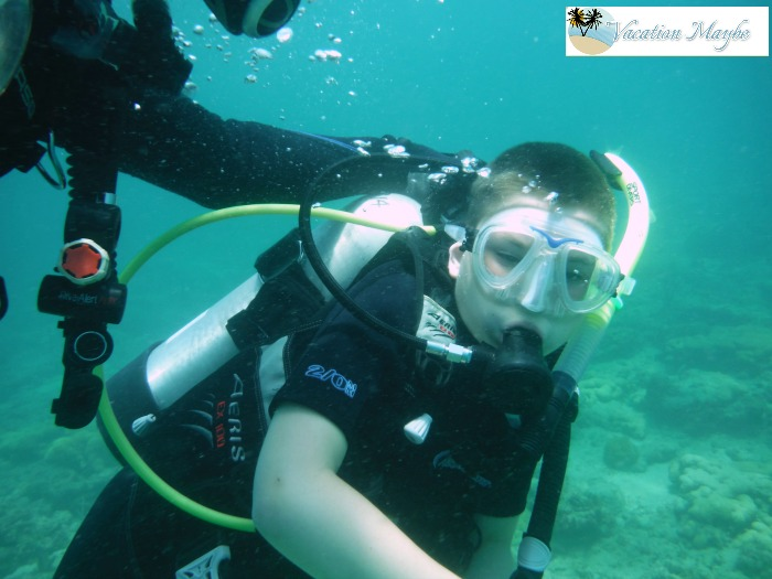 Scuba diving is an incredible experience to share with your children