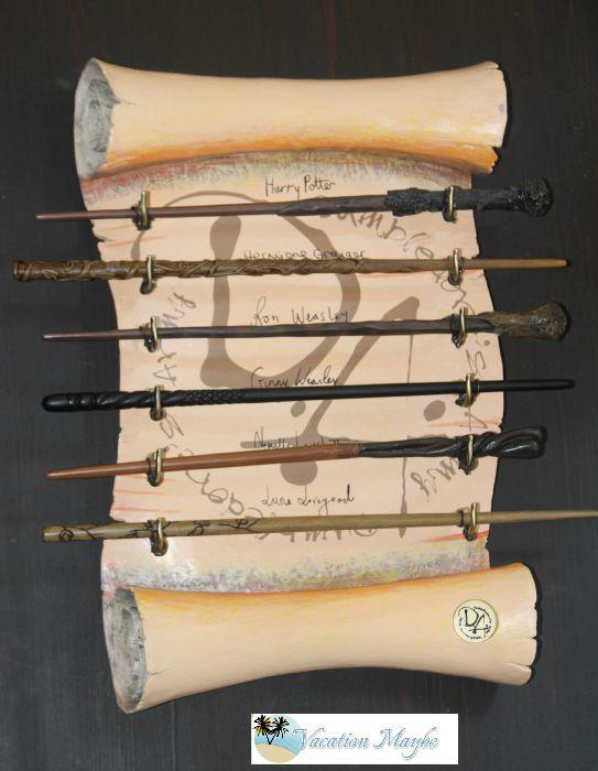 Orlando studios wizarding wands