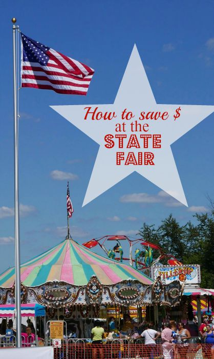 How to save money at the state fair