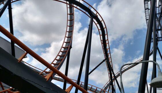 Six Flags America Apocalypse Coaster
