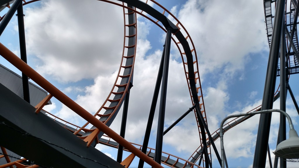 Six Flags America Apocalypse Coaster