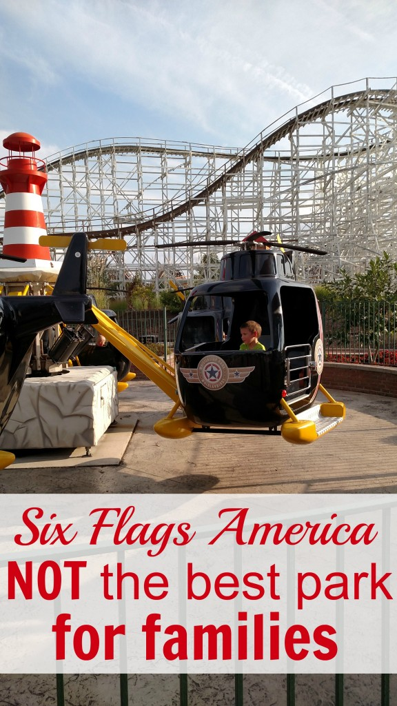 Six Flags America Not the best park for families