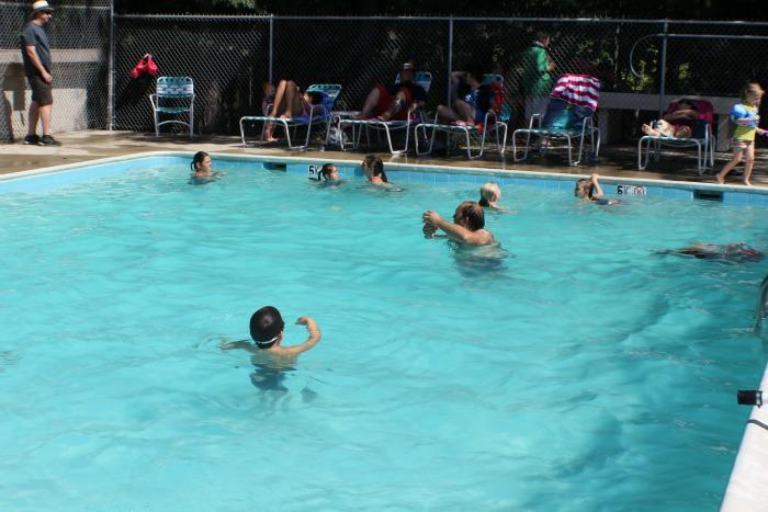 Capitol KOA pool