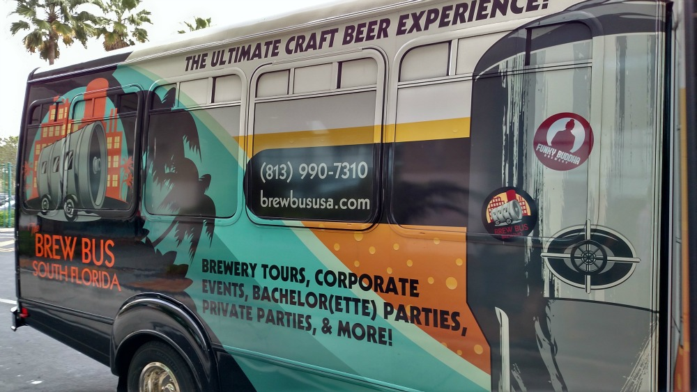 Brew Bus South Florida the bus was very comfortable and a ton of fun