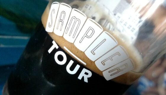 Brew Bus South Florida Sampler Tour Tasting Glass
