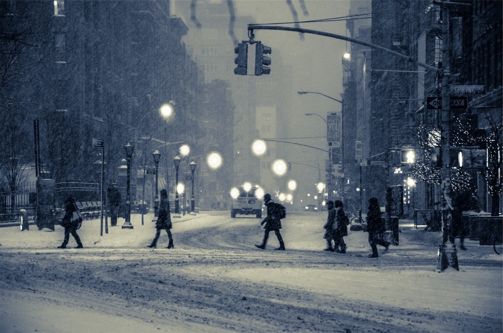 The city can be beautifl in the winter but you still need to be cautious when traveling in the snow