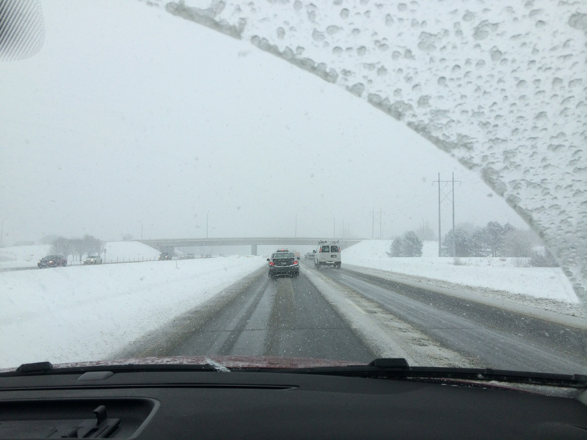 Winter Travel Tips to Help You Stay Safe Keep your windshield clear