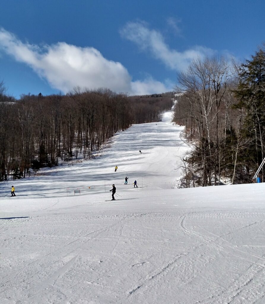 Skiing fun at Okemo Mountain Resort