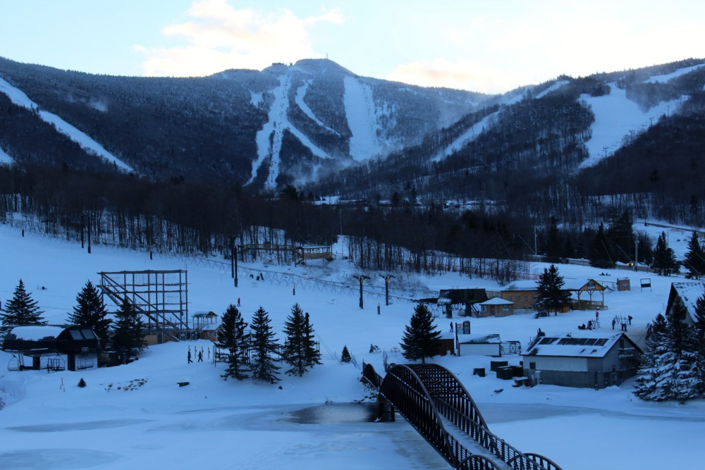 View of Killington trails